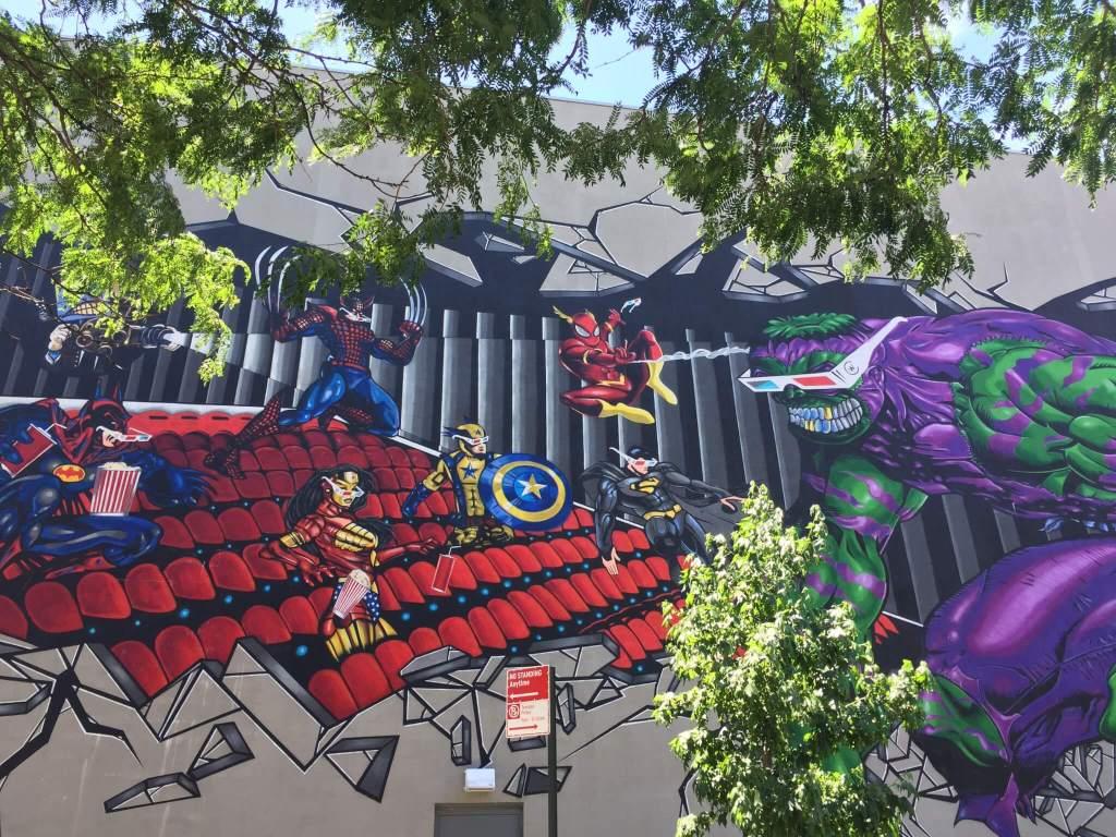 Bushwick Street Art | Superheroes
