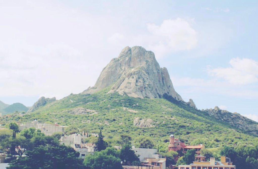 Hiking the Peña de Bernal in Mexico