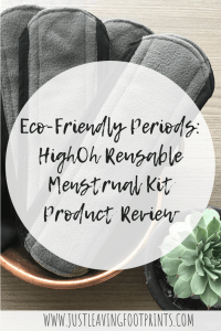 Eco-Friendly Periods: HighOh Reusalbe Menstrual Kit Product Review