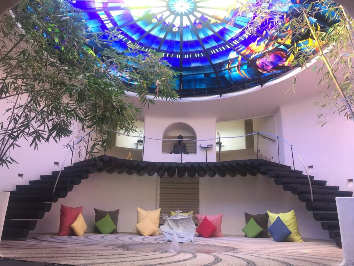 Meditation Space at El Santuario Valle de Bravo