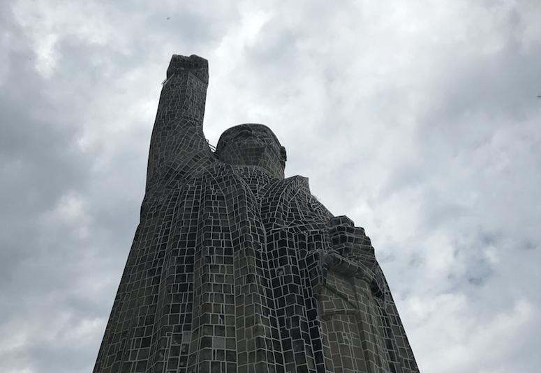 Janitzio Island | Statue of Morelos