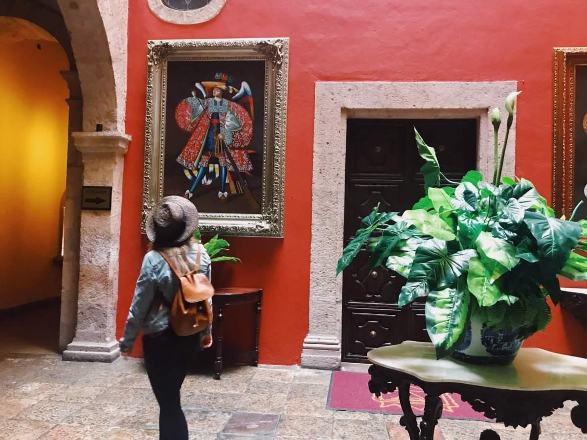Hotel Virrey de Mendoza in Morelia, Michoacán