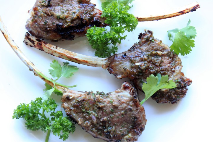 Mint & Cumin Spiced Lamb Chops