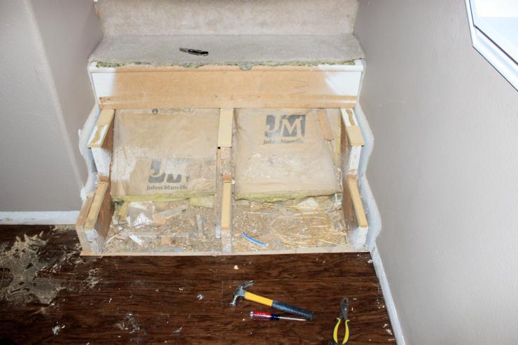 hardwood stair conversion