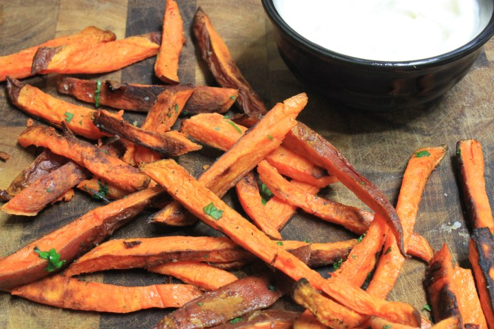 Sweet Potato Fries w/Lime Mayo