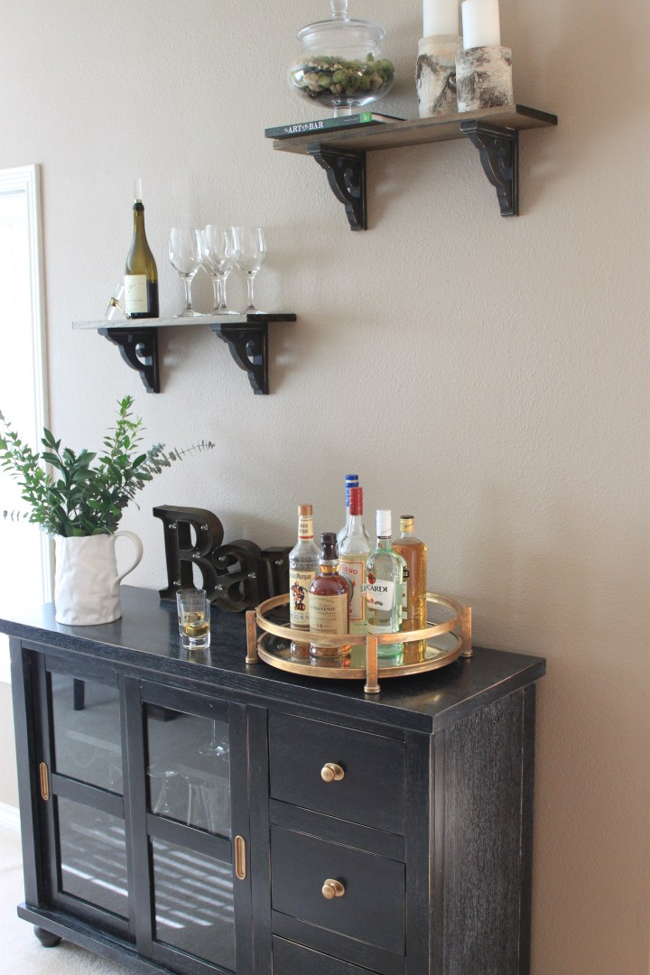 Room Makeover…Home Bar