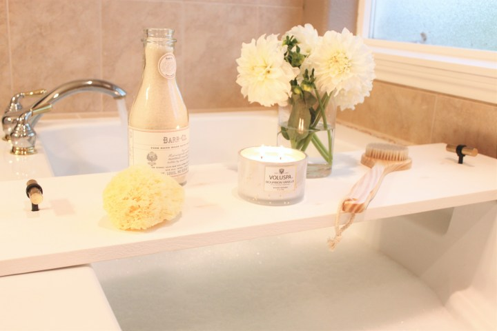 diy spa bathtub tray