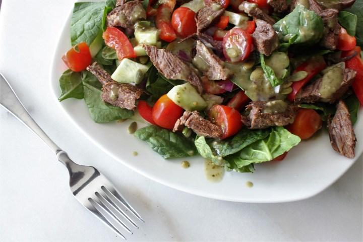 Steak Fajita Salad
