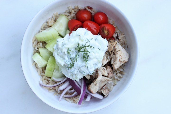 Greek Chicken Bowls