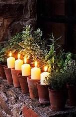 velas y macetas_bodas de jardín