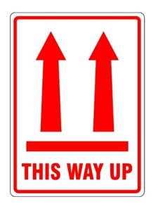 THis way up