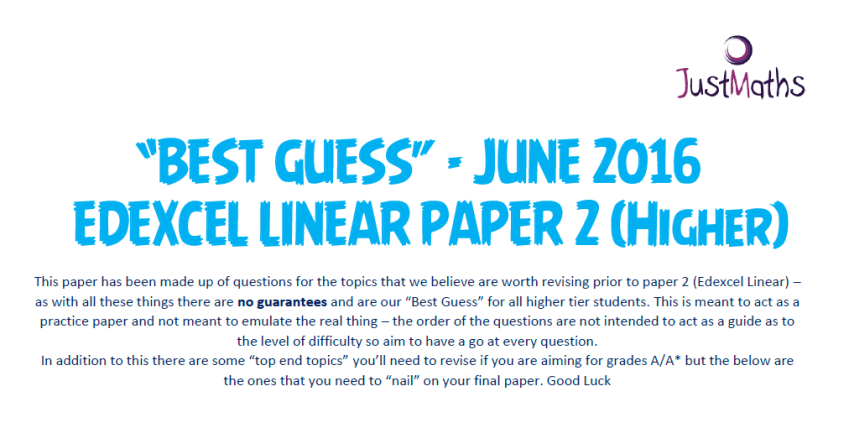 best guess 3