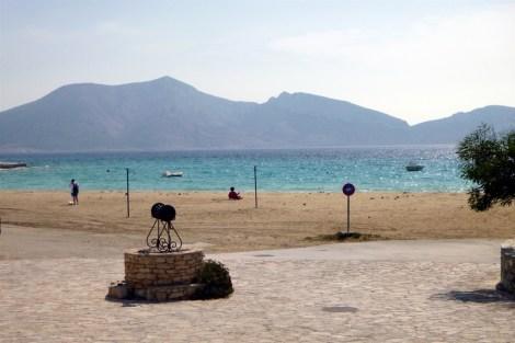 Overlooking Ammos Beach Koufonisi