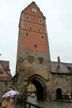 Dinkelsbuhl entry tower