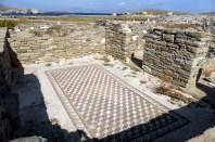 Delos mosaic floor