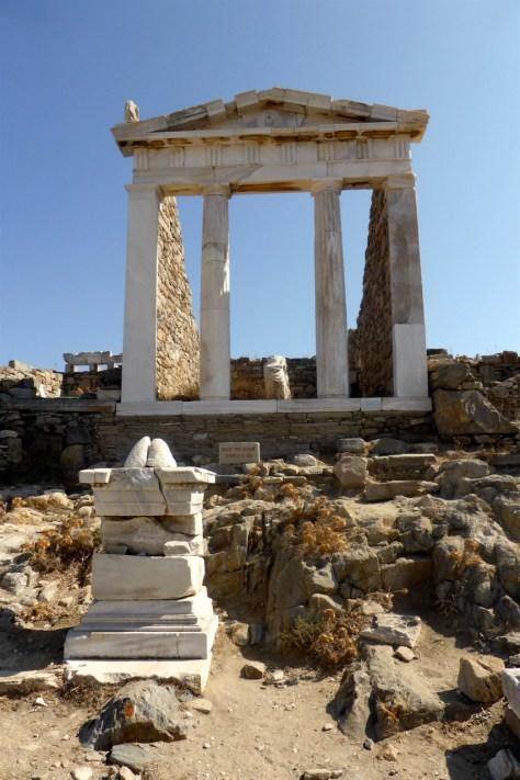 Delos temple of Isis