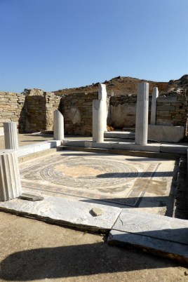 The house of Dolphins on Delos