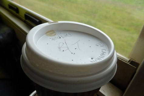 Sooty coffee cup