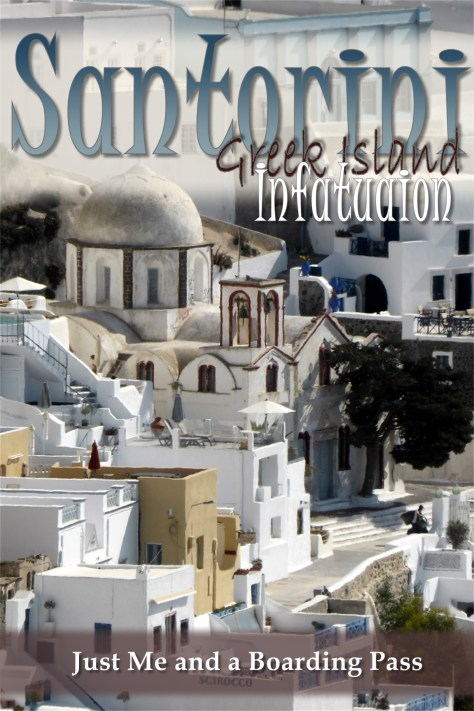 Santorini Greek Island Pinterest