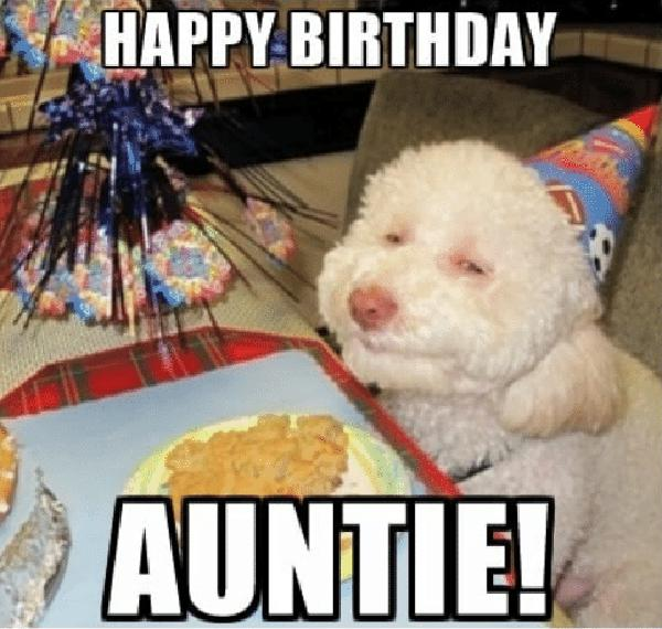 👩 15 Best Happy Birthday Aunt Meme - Just Meme