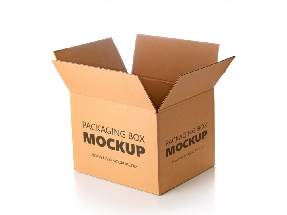 Download Free Box Packaging Mockup File 2020 - JustMockup
