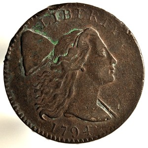 United States Copper Cent. 1794.