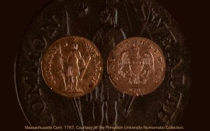 Massachusetts Cent. 1787. Reverse. Courtesy of the Princeton University Numismatic Collection.
