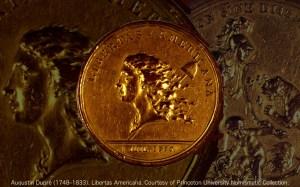Augustin Dupré (1748–1833). Obverse. Libertas Americana. (Obverse). Courtesy of Princeton University Numismatic Collection.