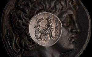 Silver Tetradrachm of Lysimachus Pergamum. 287-BC-282-BC.