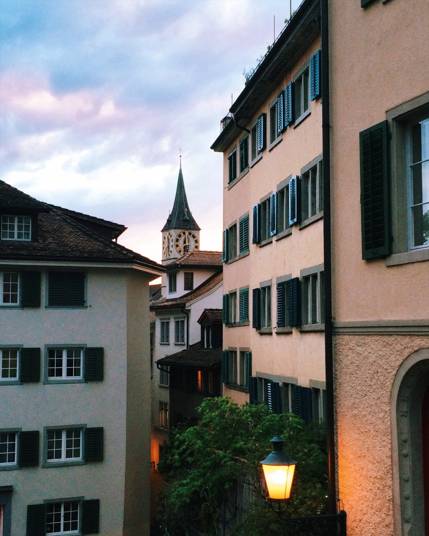 Buildings in Zurich Niederdorf