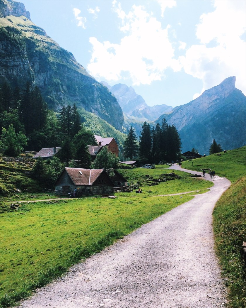 Swiss panorama in Appenzell
