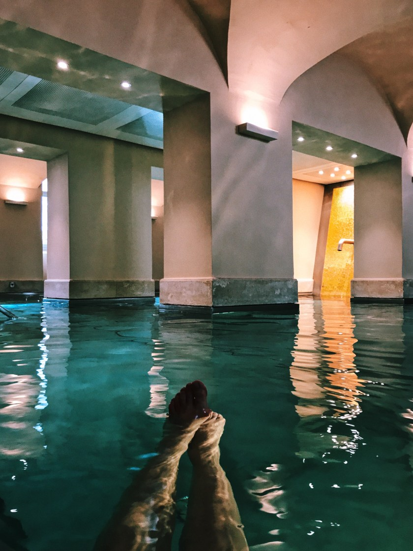 Relaxing at the Limmathof Spa in Baden
