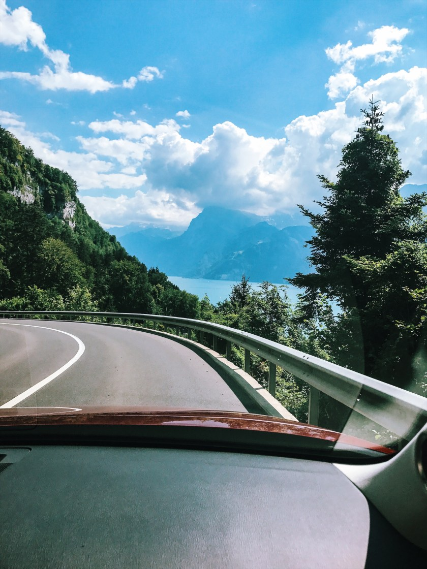Road trip across Switzerland, Lake Lungern