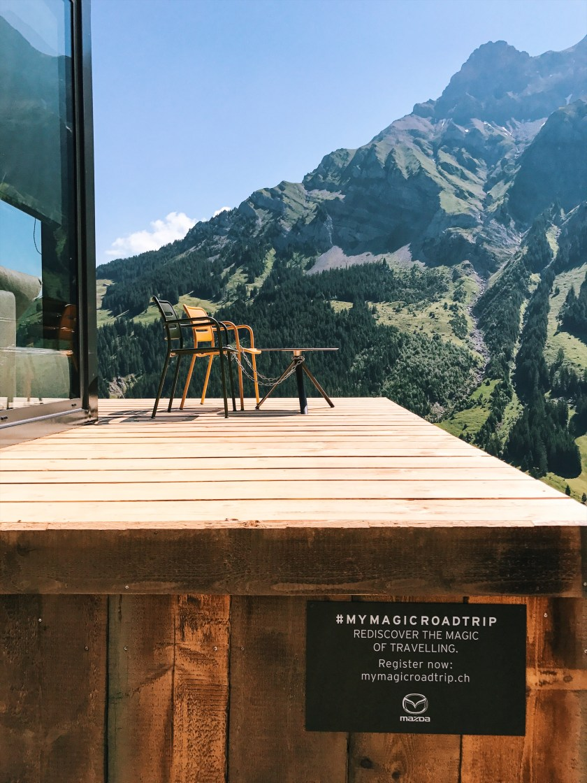 Road trip destination Adelboden, Switzerland with Mazda