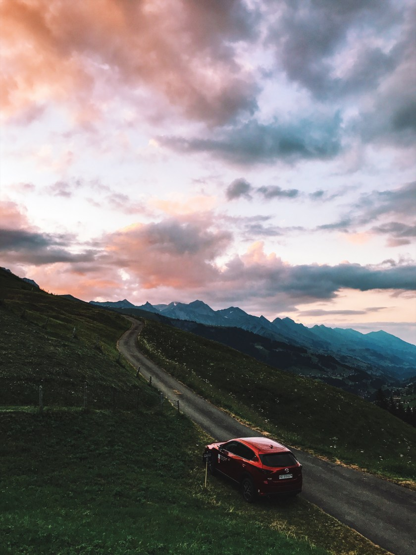 My magic roadtrip to Adelboden with Mazda