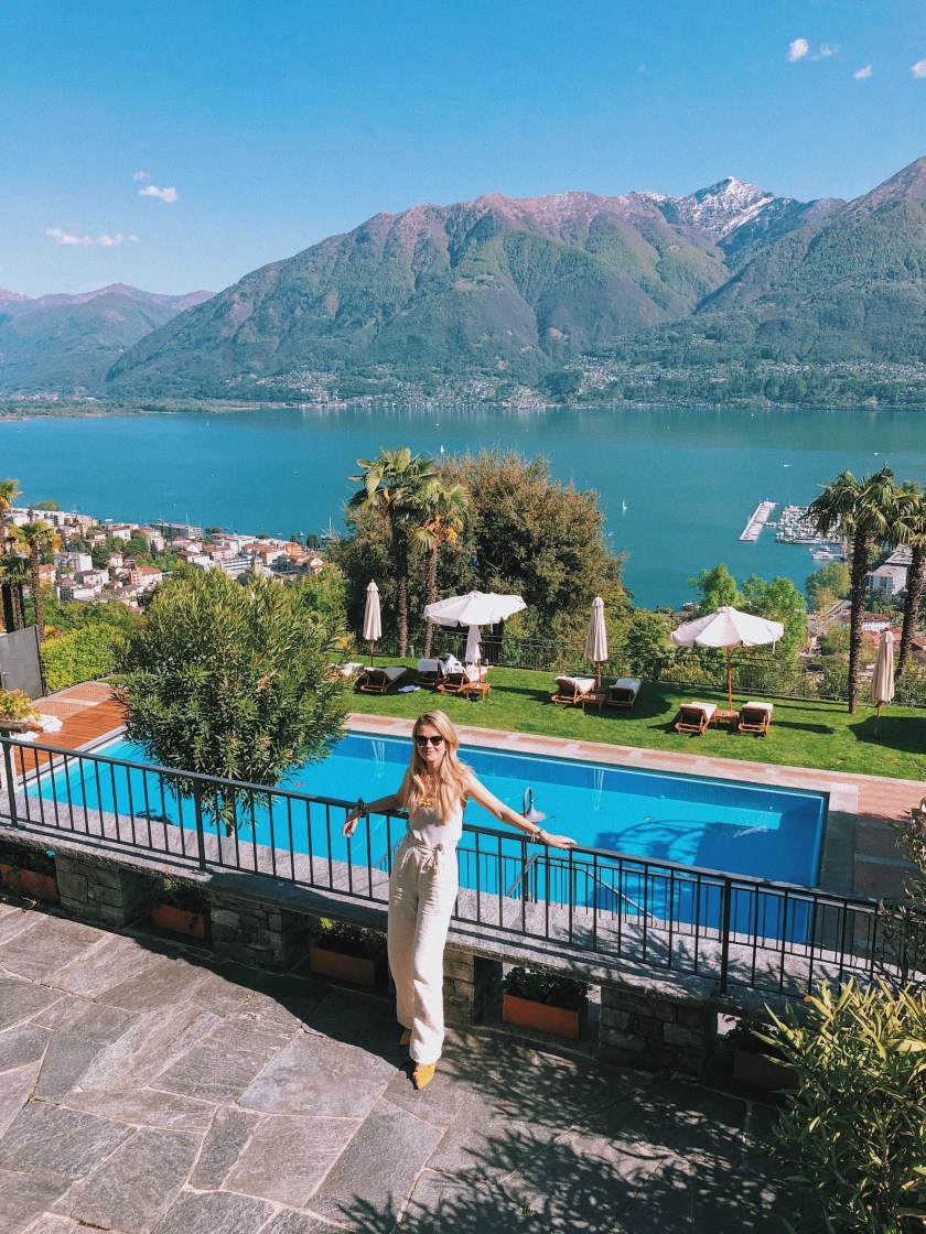Swiss vacation Villa Orselina Locarno luxury hotel