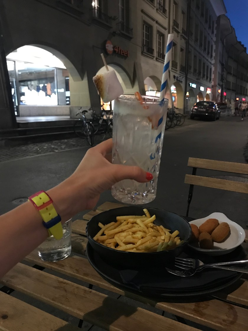 Drinks in Bern, Switzerland