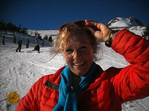 Image of Laura Coleman on Mount Hood