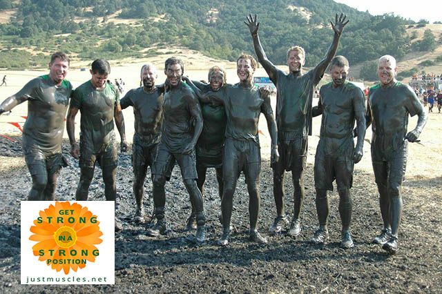 Image of Laura Coleman's Tough Mudder race team
