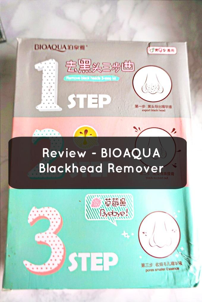 Review – BioAqua 3 step Blackhead remover