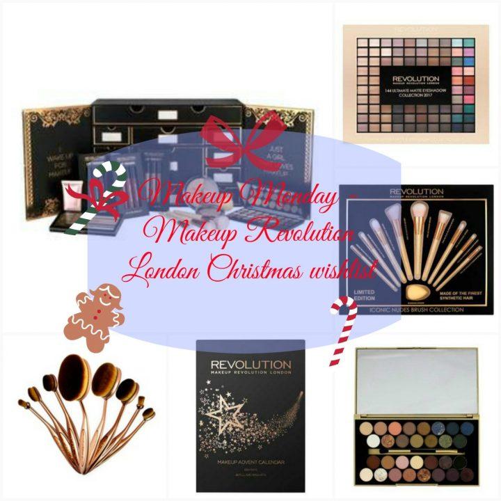 Makeup Monday – Makeup Revolution Christmas gift wishlist