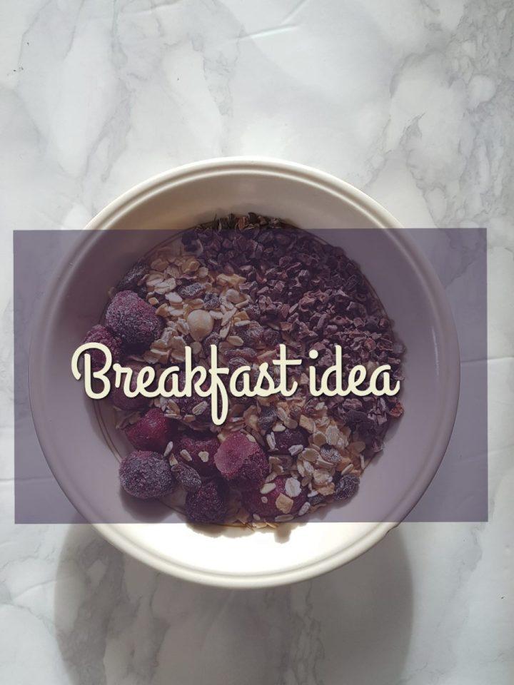 Quick breakfast choice