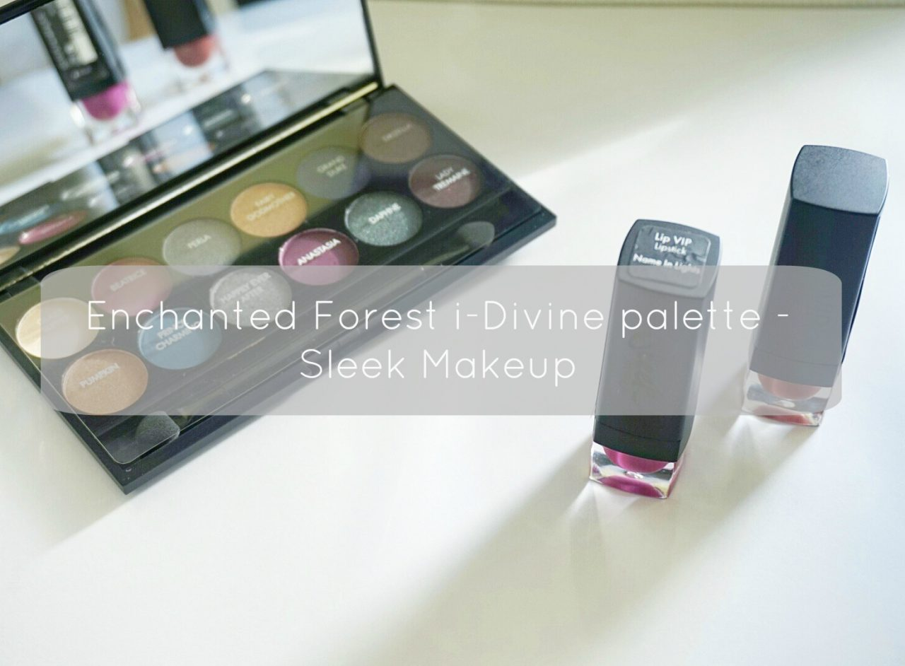 Enchanted Forest i-Divine eyeshadow palette – Sleek Makeup