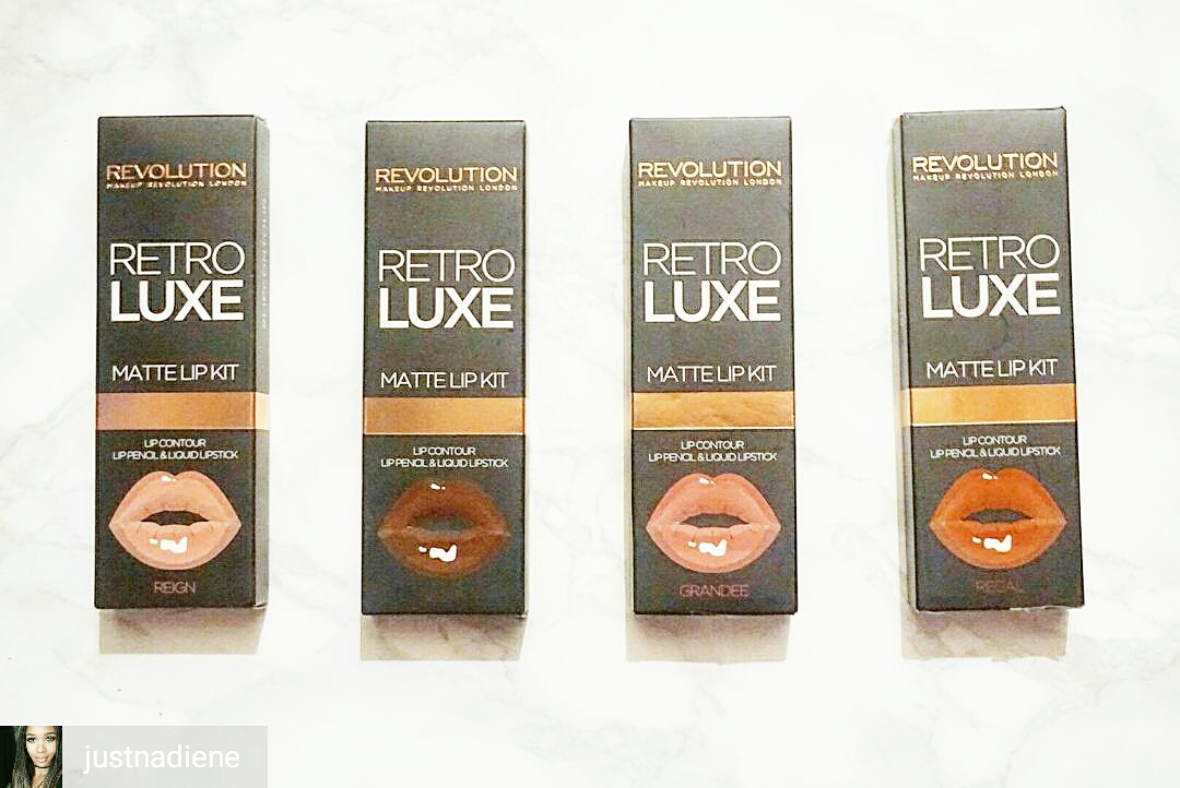 Makeup Revolution RetroLuxe matte liquid lip kit - The New Craze