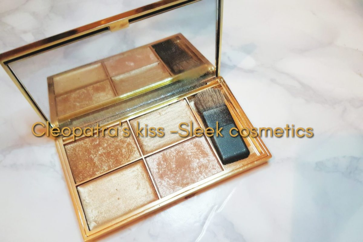 Cleopatra's kiss highlighting palette - Sleek Makeup