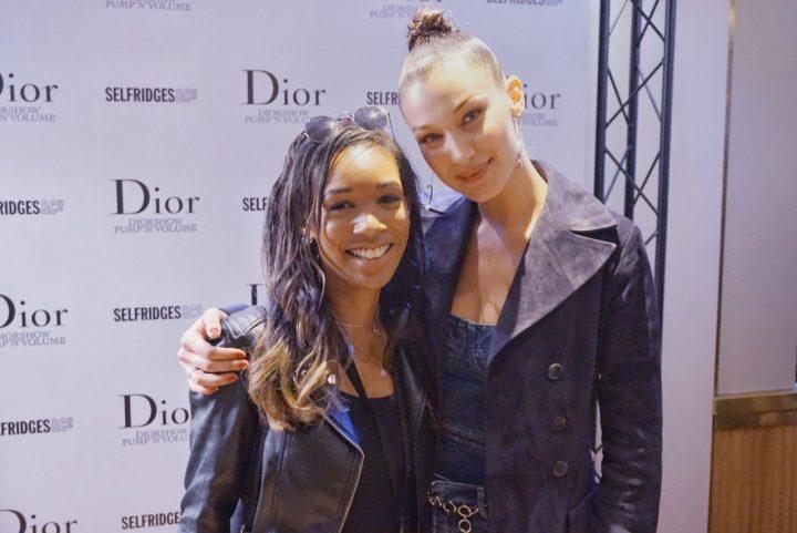 I met Bella Hadid – #Diorbackstage