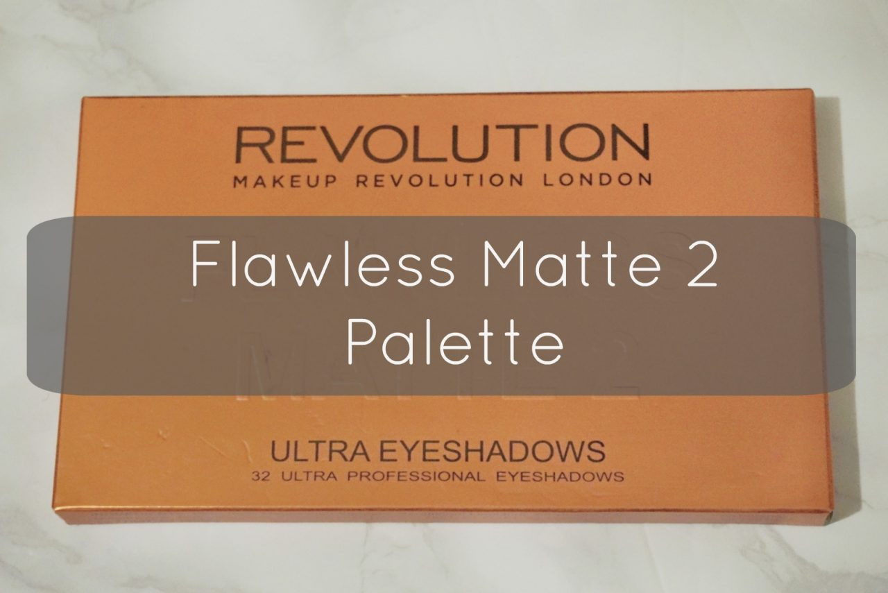 Flawless Matte 2 Palette – Makeup Revolution