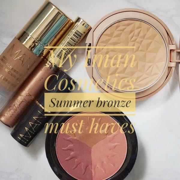 My Iman cosmetics Summer bronze must-haves