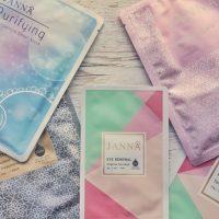 Janna luxury sheet mask range