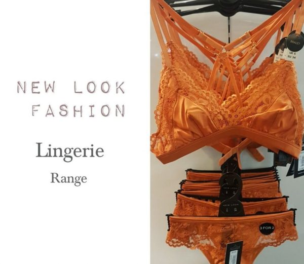 New Look fashion latest lingerie range